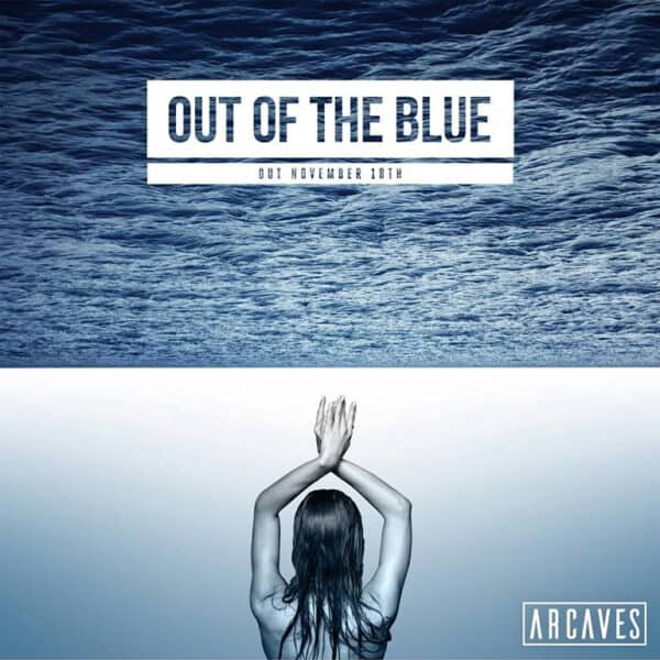 ARCAVES Out of The Blue Single Cover